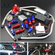 Регулируемый регулятор давления топлива + 255 LPH комплект топливного насоса подходит для DSM GTI EVO RED