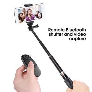 Image 4 - Neue Auslöser Kamera Controller Adapter für Selfie Zubehör Foto Control Bluetooth Remote Taste für Selfie