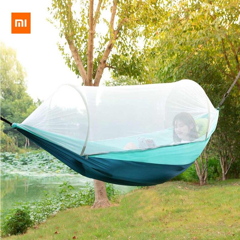 Nouveau Xiaomi Youpin Zaofeng hamac extérieur pour moustiques 300kg prévention du renversement de charge Construction rapide Super facile à transporter