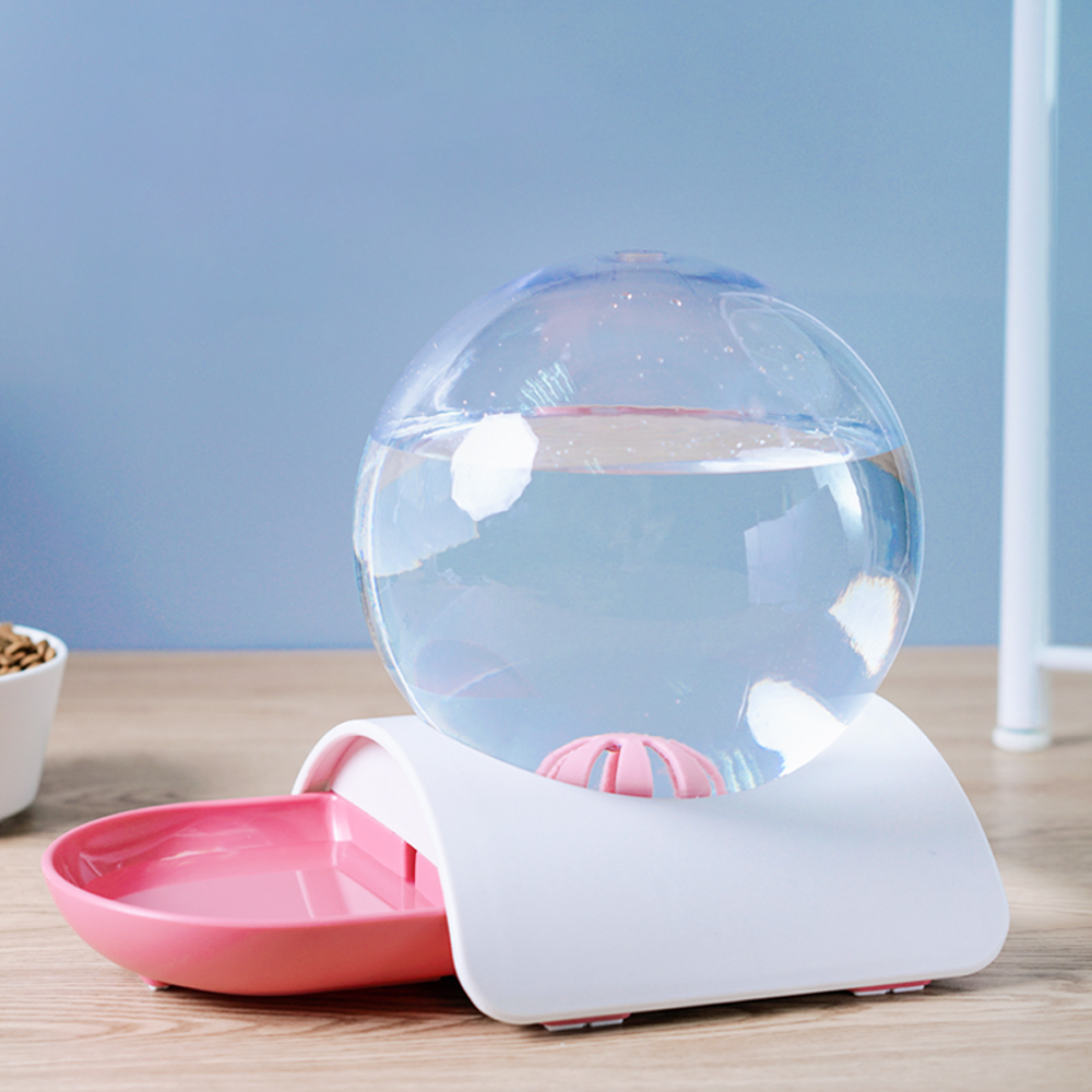 Cat Dog Feeder Fountain Bubble Large Drinking Bowl Pet Automatic Cats Water Fountain For Cat Pets Water Dispenser No Electricity 5