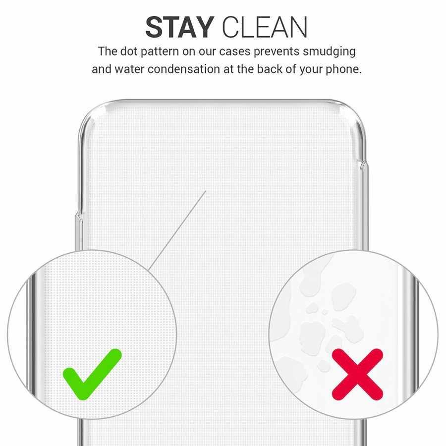 Étui pour samsung de téléphone souple Transparent S10 S9 plus S6 edge plus S7edge S8plus S10 plus