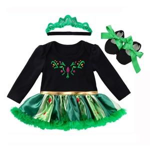 Костюм для новорожденных девочек на первый день рождения, комбинезон, детская одежда, комплекты платья с Минни, 3 предмета, одежда для малышей, детское платье для девочек