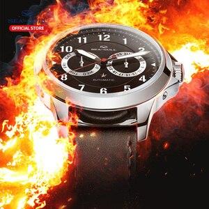 Image 4 - Seagull mens watch fashion luminous brand new multifunctional 100 meters waterproof automatic mechanical mens watch R1927