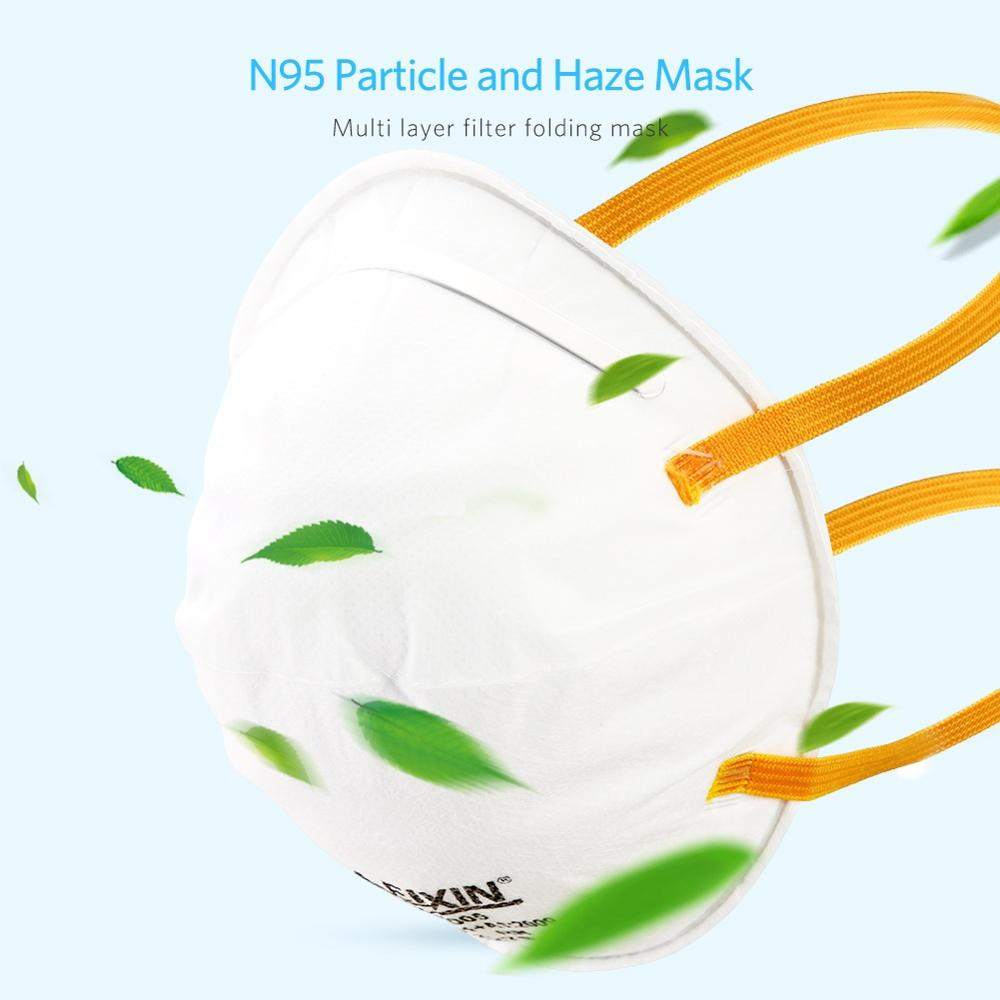 FFP2 Mask Anti-dust Protective Non-woven Mouth Cover Safety Breathable Ear Loop Mask Safety Face Care Respiratory Mask