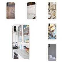 Not Real Marble For Xiaomi Redmi Mi 4 7A 9T K20 CC9 CC9e Note 7 9 Y3 SE Pro Prime Go Play Art Diy Luxury Phone Case(China)
