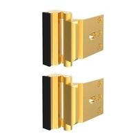 2 Pack Home Door Reinforcement Security Locks for Childproof Door Lock Night Lock Withstand 800 Lbs Cabinet Hinges     -