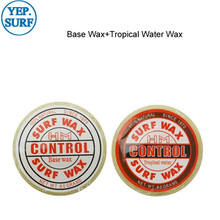 Surfboard natural wax Base Wax+Tropical Water Wax for outdoor surfing sports
