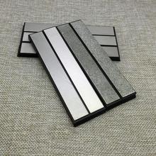 """5.9 """"Кухня Ножи APEX edge Pro точилка для карандашей Замена Алмазный точильный камень 80 2000 Грит грубый Средний тонкого помола камень"""