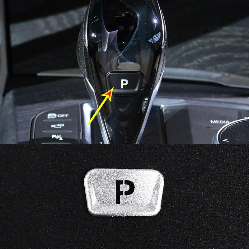 Botão do carro decoração adesivo para bmw 3 4 series g20 g28 g22 g23 z4 g29 decoração interna freio eletrônico p botão freio de mão