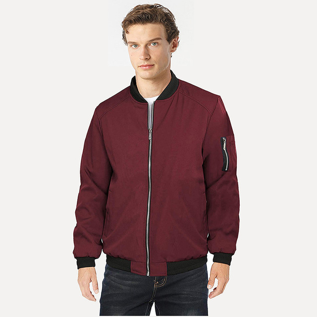 bomber jacket Mens Jackets Casual Coats Bomber Jacket Slim Men s windbreakers Fashion Male Outwear Mens Brand Clothing plus size