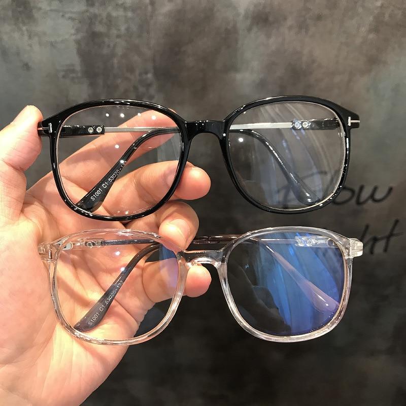 2020 Fashion Anti Blue Light Glasses For Men Women Vintage Computer Gaming Glasses Clear Lens Blue Ray Blacking Optical Glasses