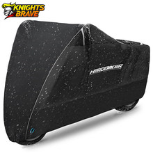 Herobiker Motorfiets Cover Outdoor Uv Protector Scooter Cover Bike Waterdichte Stofdicht Moto Regenhoes Indoor Lock-Gaten Ontwerp