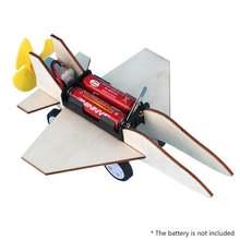 Детский креативный самолёт diy в сборе модель электрического