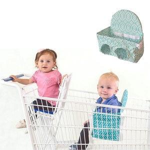 Image 3 - Carrito de compras para bebé, hamaca portátil, asiento de carrito de tirón, carrito de compras de supermercado, asiento de seguridad para bebé