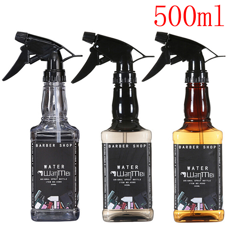 Spray Bottle 500ML Hairdressing Spray Bottle Salon Barber Hair Tools Water Sprayer ABS Spray Bottle 650ML Bottle Dropshipping