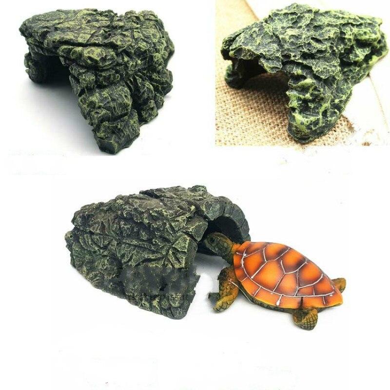 Reptile Supplies Living Turtle Terrace Pet Climbing Turtle Hill Climbing Rockery Turtle Terrace Size Turtle Aquarium Accessories