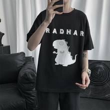 Bxyichen оригинальный узор хлопковая футболка с коротким рукавом