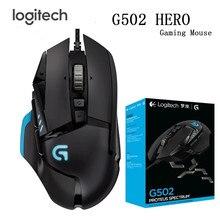 Logitech מקורי עכבר G502/G102 לתכנות משחקי ביצועים גבוהים עכבר מנוע עם 16,000 DPI לתכנות מתכונן עבור M