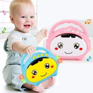 1 шт., детская мини-машинка для рассказов, музыкальный проигрыватель, детские развивающие Игрушки для раннего обучения, милые цветные пласти...