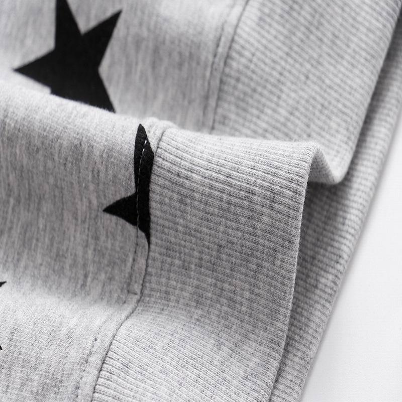 SAILEROAD Fashion Stars Kids Hoodie Baby Hoodies Girls Kids Sweatshirt Boy Long Sleeve T-shirt Tops Sport Shirt Sweater 3