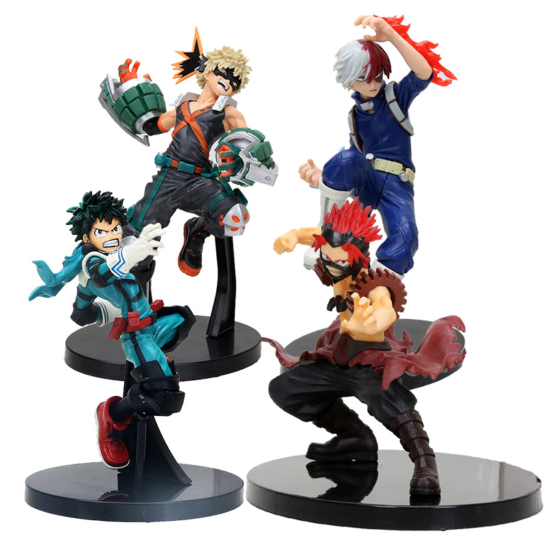 13cm My Hero Academia The Amazing Heroes Kirishima Eijiro Action Figure Toys Collection Model Room Decoration Toys For Children