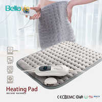 220-240V 100W 40*30cm Microplush Electric Heating Pad for Abdomen Waist Back Pain Relief Winter Warmer 3 Heat Controller EU Plug