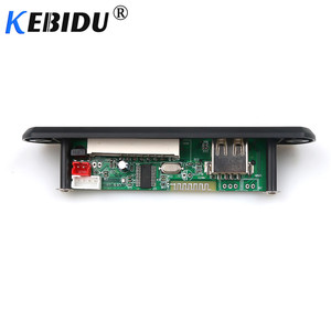 Image 3 - Kebidu 5 فولت 12 فولت بلوتوث MP3 WMA فك مجلس اللاسلكية وحدة صوت USB TF راديو ل اكسسوارات السيارات شاشة ملونة مشغل الصوت