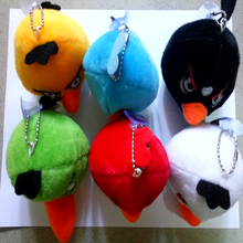 6pcs 10cm Angry Cartoon Soft  Plush  Doll Toy for Kids Christmas Gifts