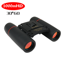 Zoom Telescope 30x60 Folding Binoculars with Low Light Night Vision for Outdoor Bird Watching Tavelling Hunting Camping 1000m