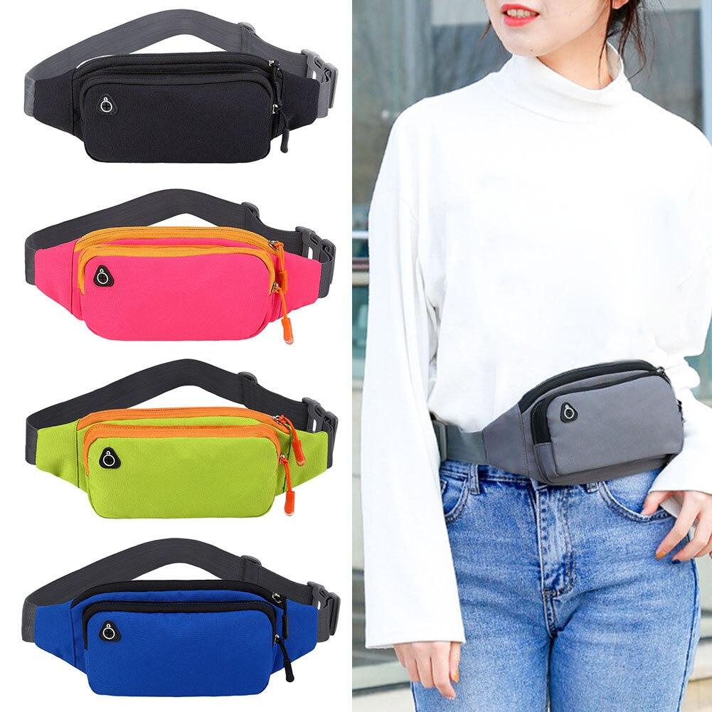 Waist-Bags Multi-Function Waterproof Outdoor-Sports Running Chest Messenger Xr-Hot