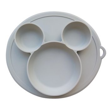 Children's Silicone Sucker Bowl  Baby Plate Feeding Dish BPA Free - discount item  5% OFF Feeding