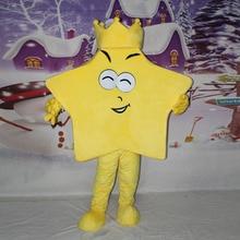 Star mascot costume cartoon figure