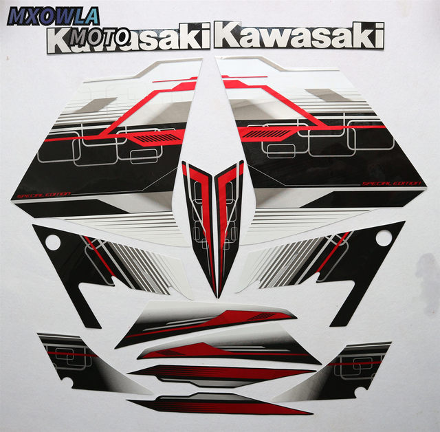 $ 40.37 3M Stickers Decal for Kawasaki Ninja300 Ninja 300 2013 2014 Fairing  Whole Car