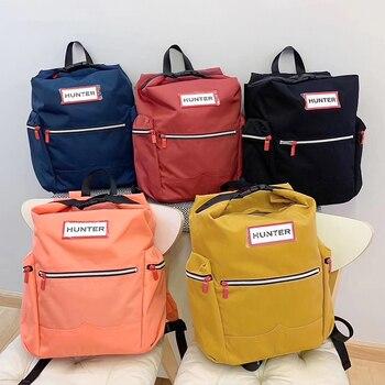 Mochilas originais unissex, mochilas leves de náilon e resistentes à água, para laptop de 14 '', com clipe para paraquedas, grande, casual e leve, para viagem