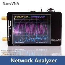 NanoVNA analizador de red vectorial, 50KHz 900MHz, pantalla táctil Digital de onda corta MF HF VHF UHF, Analizador de antena de onda de pie