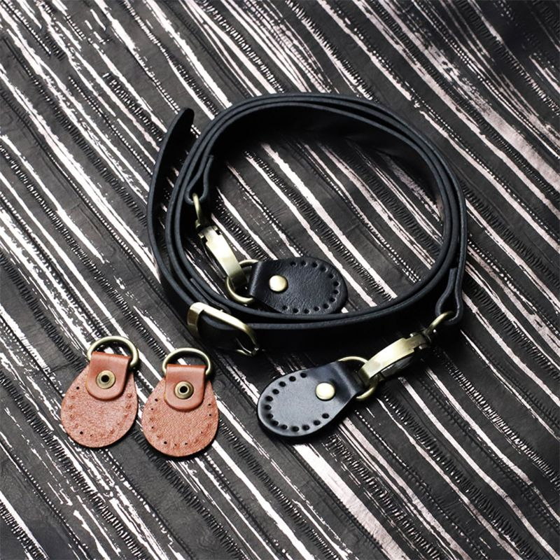 120cm DIY PU Leather Strap Accessories Shoulder Crossbody Replacement Straps