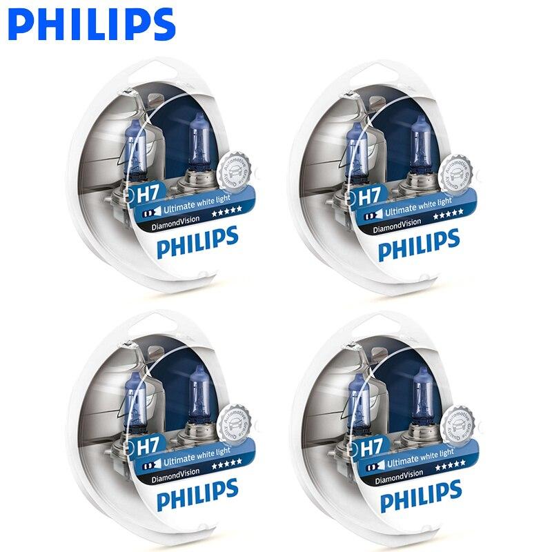 Philips Diamond Vision H1 H4 H7 H8 H11 9005 9006 HB3 HB4 12 V DV 5000 K