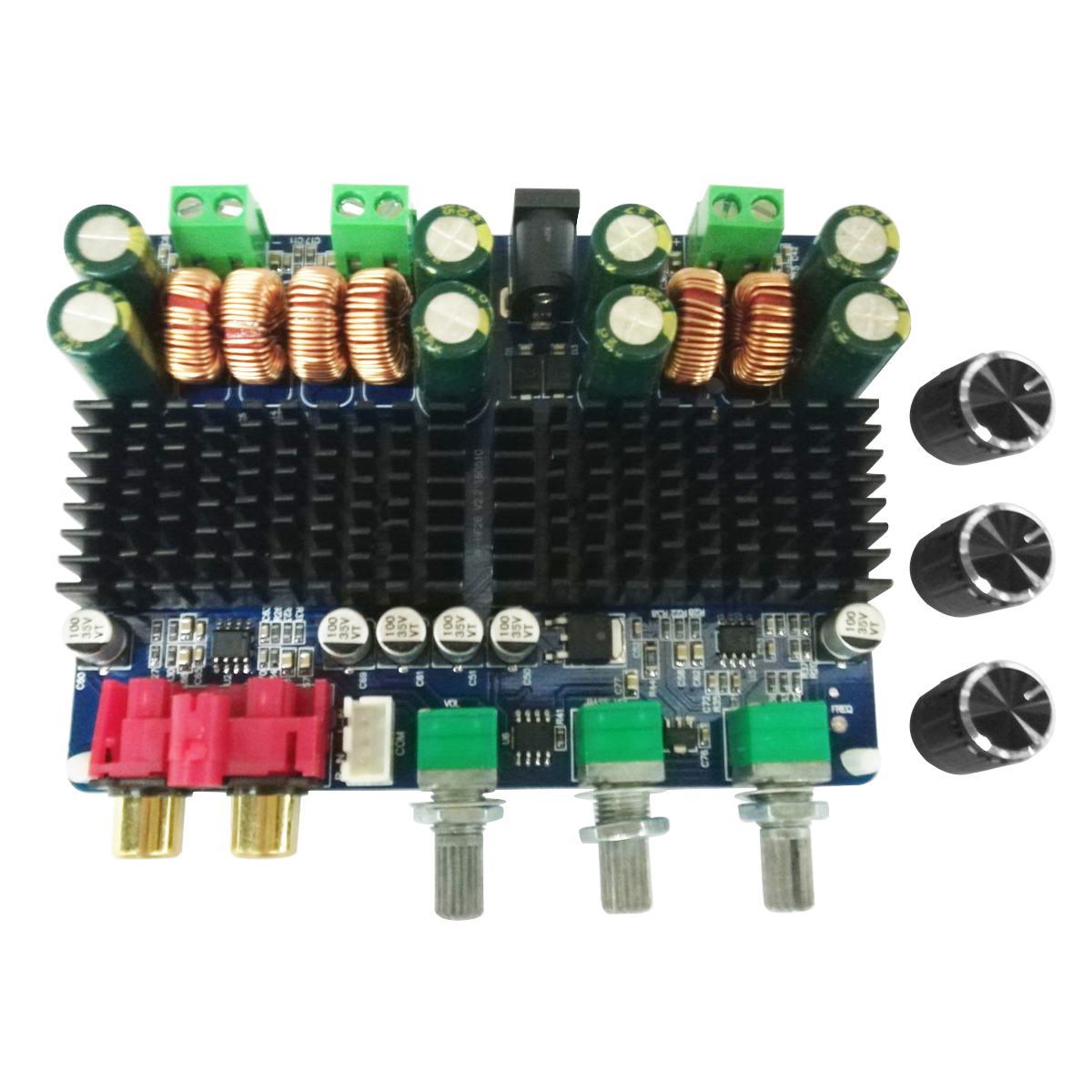 TPA3116 Digital Subwoofer Power Amp Board 12~26V DC bluetooth 2.1 Channel Amplifier Boards 2x50W+100W image
