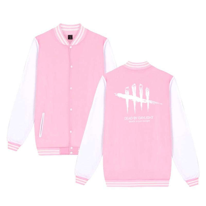 Unisex Fashion Baseball Jacket Dead By Daylight Baseball Uniform  Harajuku Sportswear Boys Girls Lovely Cotton Jackets Clothes 11