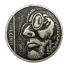 Hobo Nickel 1915 Man USA Morgan 5 CENTS COIN COPY Type Commemorative Coin  Collection Liberty Us Coins drop shipping