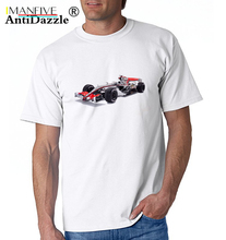 IMANFIVE F1 Ayrton Senna sennacars T-shirt Men F 1 T shirt New Design formula Digital Inkjet Printing Mclaren shirts