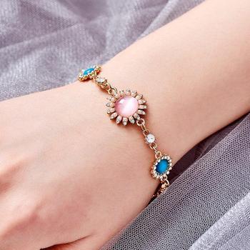 Women's Fashion Colorful Bracelets Bracelets Jewelry New Arrivals Women Jewelry Metal Color: S05280