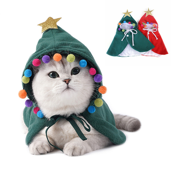 Cat and Dog Christmas Cloak 1