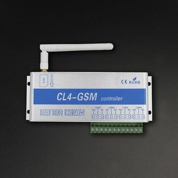 GSM controlador de interruptor inalámbrico llamada de teléfono móvil SMS Control remoto interruptor de relé accesorios para aparatos eléctricos enrutador
