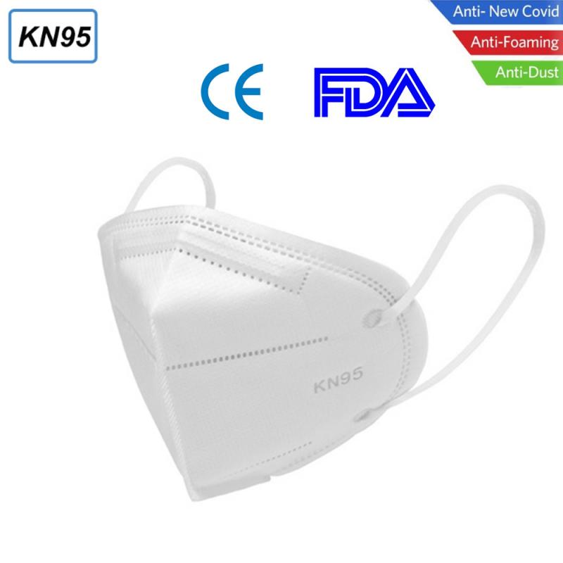 10/100Pcs KN95 Face Mask Anti Dust Bacterial N95 Mask 6-Layer PM2.5 Dustproof Protective 95% Filtration FFP2 Mouth Muffle Cover