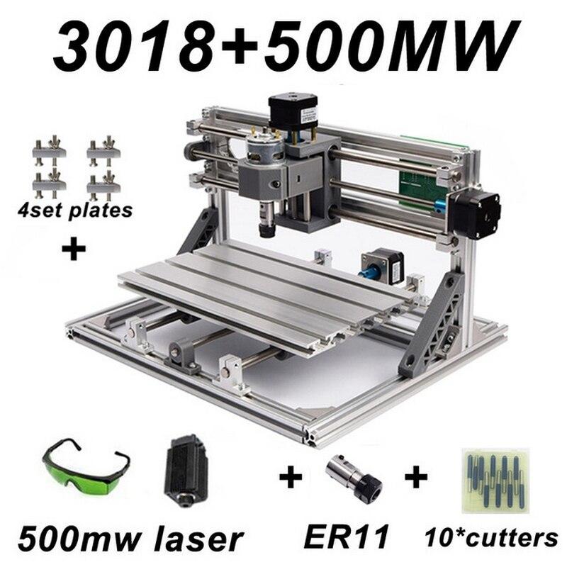 Mini CNC Engraving Machine With ER11 Wood Router Grinder PCB Milling Machine PVC Wood Carving Machine DIY CNC Windows