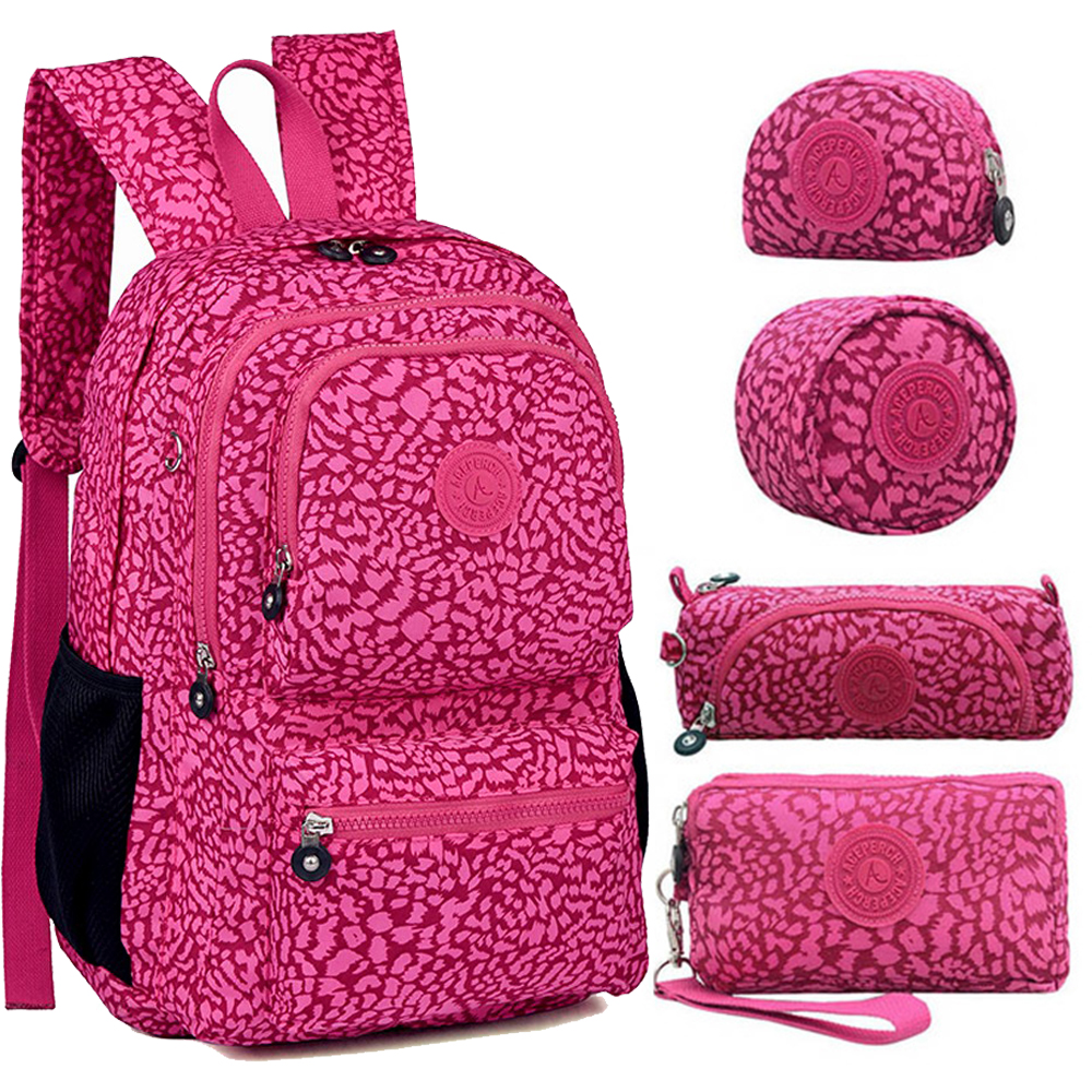 ACEPERCH Women Original Backpacks Mochila Mujer Escolar Feminina School Bag For Teenager Girl Nylon Waterproof Backpack Female
