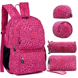 ACEPERCH femmes sacs à dos originaux Mochila Mujer Escolar Feminina sac d'école pour adolescent fille Nylon sac à dos étanche femme