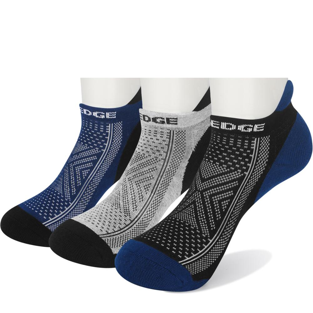 YUEDGE 3Pair Summer Autumn Perspiration Breathable Comfortable Deodorant Outdoor Sports Invisible Cotton Socks Male Ankle Socks