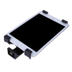 Image 5 - Uniwersalny uchwyt na Tablet z tworzywa sztucznego uchwyt na statyw 1/4in Adapter do 7 10.1 iPad Galaxy akcesoria do telefonów komórkowych czarny